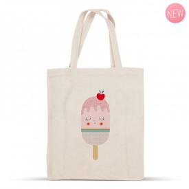 Ice cream cotton bag