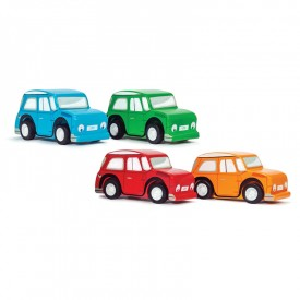 Whizzy Pull-Back Cars CDU (Set of 12 in CDU) by Le toy van