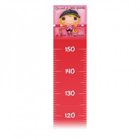 Height ruler by Isabelle Kessedjian