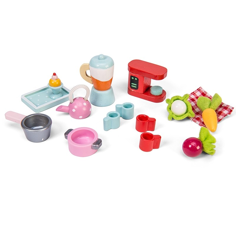 Tea-Time Kitchen Accessory Pack by Le toy van