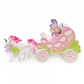 Carriage & Unicorn with Fairy by Le toy van