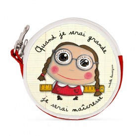 Round purses Princess by Isabelle Kessedjian