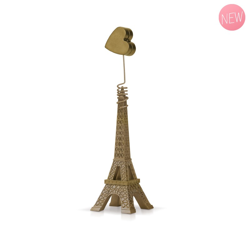 Heart Photo Holder Gold by Marie-Pierre Denizot
