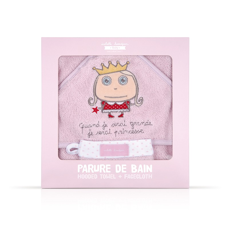 Baby Bath Set Princess by Isabelle Kessedjian