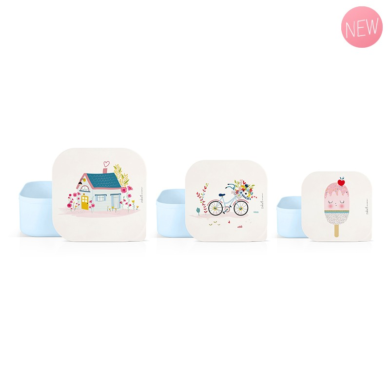 Set of 3 lunch boxes Holiday by Zabeil