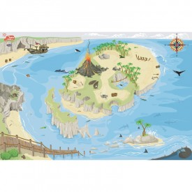 Pirate Playmat 80 x 120cm by Le toy van