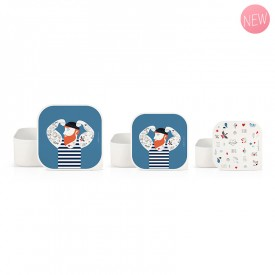 Set of 3 lunch boxes Sailor by Zabeil
