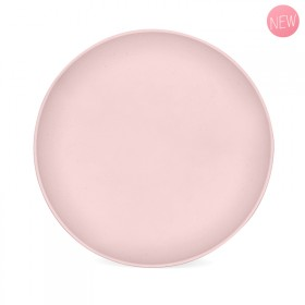 Cherry pink vegetable flat plate