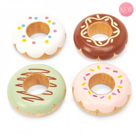 Wooden doughnuts by Le toy van