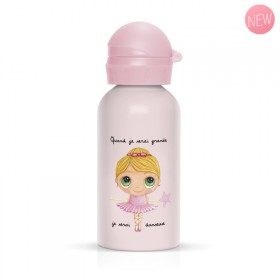 Children flask ballerina for girl pink