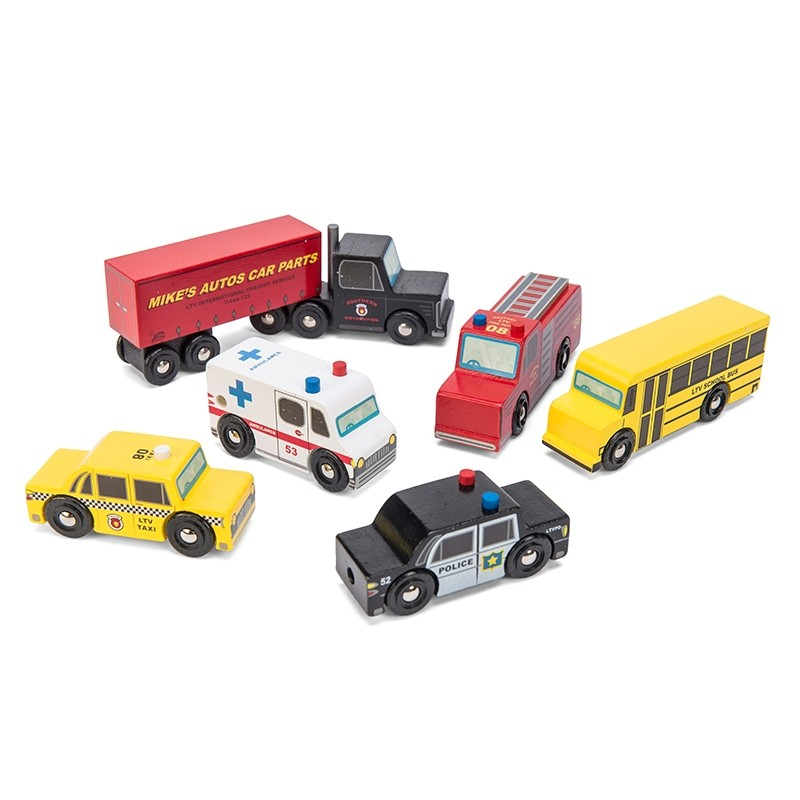 New York Car Set by Le toy van