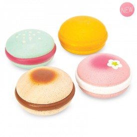 Wooden macarons by Le toy van
