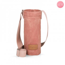 Pink bottle holder bag by Label'tour créations