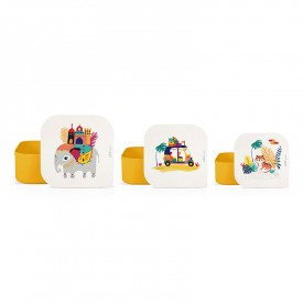 Set of 3 lunch boxes India by Zabeil