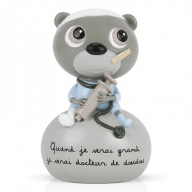 Money box Docteur de doudou by Isabelle Kessedjian