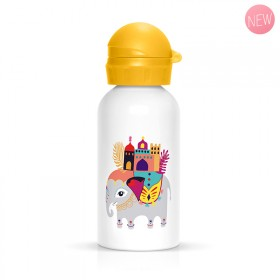 Elephant children flask