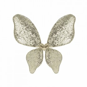 Sparkle gold sequin wings