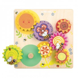 Gears & Cogs 'Busy Bee Learning' by Le toy van