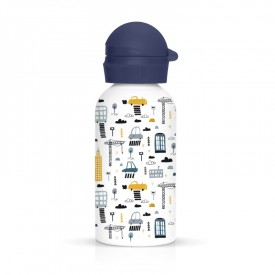 Children flask City by Label'tour créations
