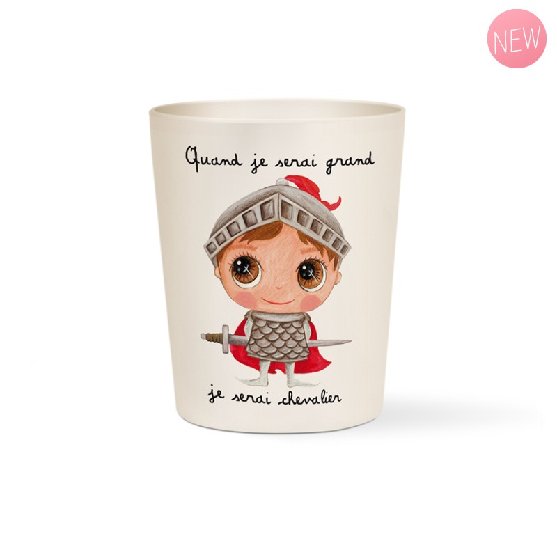 Bamboo cup Chevalier by Isabelle Kessedjian