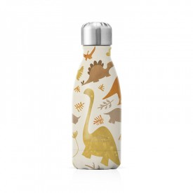 """Small insulated bottle """"Dinosaurs"""" by Label'tour créations"""