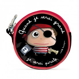 Round purses Pirate by Isabelle Kessedjian