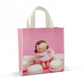 Shopping bag Mademoiselle Macarons by Missbonbon