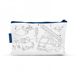 Coloring pencil case space travel by Label'tour créations