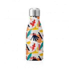 "Small insulated bottle ""Abstract"""