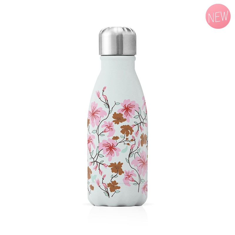 """Small insulated bottle """"Sakura blossoms"""" by Label'tour créations"""
