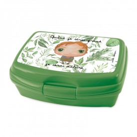 Lunch box Nature friendly boy by Isabelle Kessedjian