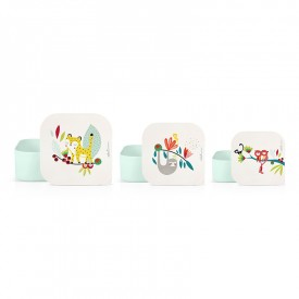Set of 3 lunch boxes Leopard by Zabeil