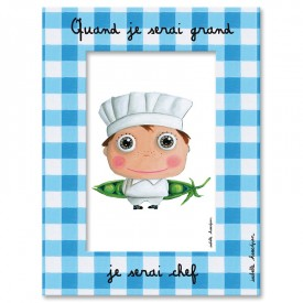 Photo Frame Chef by Isabelle Kessedjian