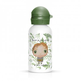 Children flask Nature for boy green by Isabelle Kessedjian