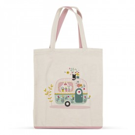 Caravan cotton bag