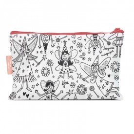 Pencil cases to colour Fairy by Marielle Bazard