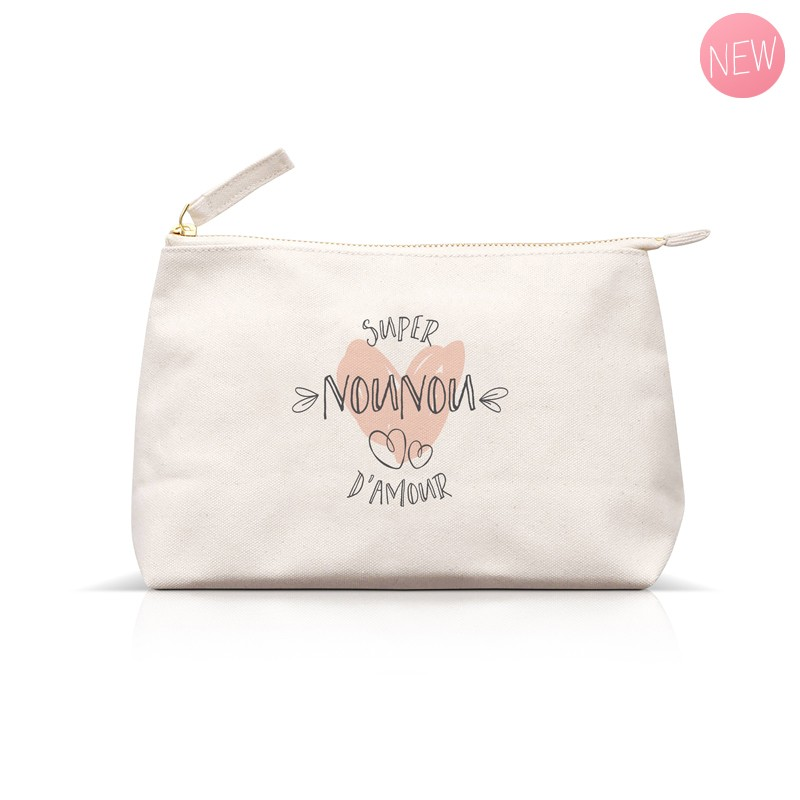 Super Nounou d'amour pouch  by Label'tour créations