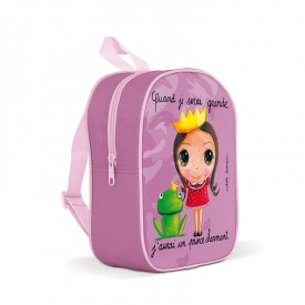 Backpack small Prince Charming by Isabelle Kessedjian