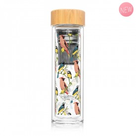 "Infuser bottle ""Birds"" by Label'tour créations"