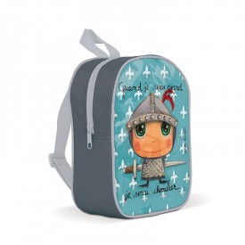 Backpack small Kinght by Isabelle Kessedjian