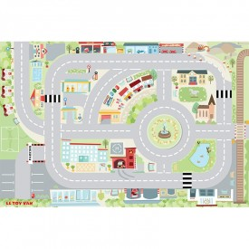 My First Town Playmat 80 x 120cm by Le toy van