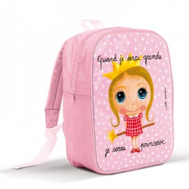Backpack large princess by Isabelle Kessedjian
