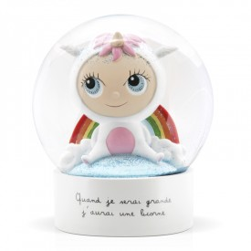 Snow globe Unicorn by Isabelle Kessedjian