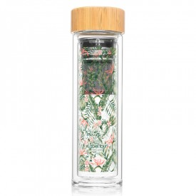 "Infuser bottle ""Tropical"" by Label'tour créations"