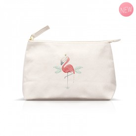 Gaëlle Duval Flamingo pouch  by Gaëlle Duval