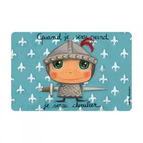 Placemat knight