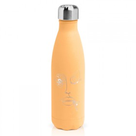 "Insulated bottle ""butterfly woman"""