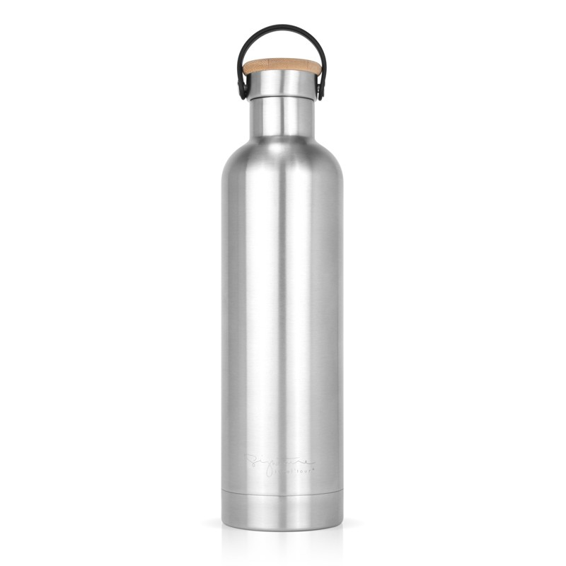 Insulated bottle stainless steel by Label'tour créations